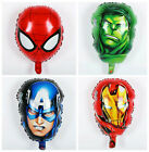 Superhero Avengers Foil Balloons Balloon Boys Super Heroes Party Decorations