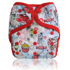 Miababy Printed Reusable Onesize Washable Cloth Diaper cover