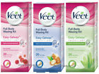 Veet EasyGrip Ready to Use Full Body Waxing Kit Normal Sensitive - 20 Wax Strips