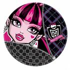 8 Monster High Paper Girls Birthday Party Disposable Plates