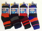 3 Pairs Boys Thermal Socks Children Teen Extra Warm Winter Sock Mix Colours Size
