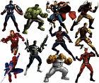 MARVEL AVENGERS wall stickers (30 characters to choose from) DISCOUNTS AVAILABLE