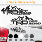 Toyota TRD Truck Off-Road 4x4 Racing Tacoma Tundra Decals Vinyl Sticker 2 Decal