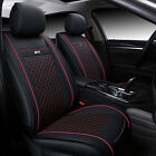 Car Interior Protector Seat Cover Chair Pu Leather Cushion For Universal 5 seats