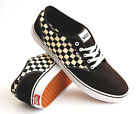 VANS ATWOOD CHECKERS BLACK SNEAKERS TRAINERS SKATE SHOES