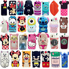 3D Cartoon Silicone Soft Rubber Gel Case Cover Skin For HTC 816/626/610/820/530