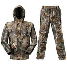 Mens Waterproof Camo Hunting Jacket&Pants Set Sniper Ghillie Suit Extra Large