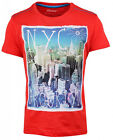 Boys NYC Brooklyn Skyscraper East Side City Print T-Shirt Top 1.5 to 8 Years