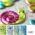 Dinosaur Marine Animals Insects Snails Alien ET Scrapbooking Bubble Stickers Toy
