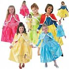 GIRLS DELUXE WINTER WONDERLAND DISNEY PRINCESS KIDS FANCY DRESS COSTUME BOOK DAY