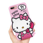 3D Cartoon Soft Silicone Rubber Phone Case Back Cover For iPhone SE 5 6 7 8 Plus