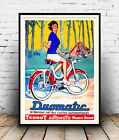 Duomatic, Vintage magazine Terrot Autocycle advertising,  Poster reproduction.