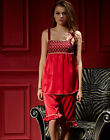 2017 2pcs Summer Silk Blend Lady's Sleepwear/sleepskirt/ pajama sets M/L/XL/2XL