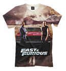 NEW T-shirt The Fast and the Furious car auto speed cool designe HQ full print