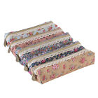 New Mini Floral dot pencils Pencil Case Zip Comstic Makeup Storage Bag 18*7.5CM