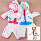 """New 1set Handmade Cotton Doll Jacket + Pants Winter Clothes fit for 18"""" Dolls"""