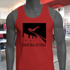 CHINA GREAT WALL PROUD PRIDE HIKER TRAVEL TOURIST Mens Red Tank Top