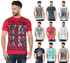 Mens Cargo Bay Vintage Graphic Print Cotton T Shirt Summer Tee Tops M-6XL New