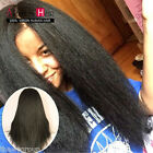 7A Arison 150% Italian Yaki African Full Lace Human Hair Wigs Glueless Lace Wigs