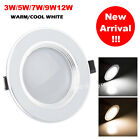 Dimmable 3W 5W 7W 9W 12W Cree LED Recessed Ceiling Flat Panel Light Downlight GW