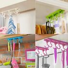 Self-adhesive Ceiling Hook Storage Hanging Rack Holder Organizer Kitchen Home GW