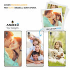 Case Cover Anukku Gel Personalised Custom Picture Photo Image For Sony Phones
