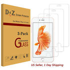 3x Premium Real Temper Glass Screen Protector for Apple iPhone 6s/6Plus/7/7 Plus фото