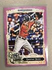 2017 Topps Gypsy Queen Purple Border Parallel Christian Yelich Marlins /250