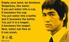 Poster Bruce Lee Quotes