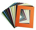 Внешний вид - Pack of 50 11x14 Picture Mat for 8x10 Photos & 50 Backing Board & 50 Clear Bags