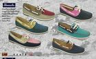 Ladies Shoreside Deck Shoes  / Ladies Shoes / Boating/ Casual Slip on Shoes