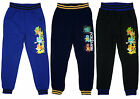Boys Official Pokemon Froakie Chespin Jog Pants Jogging Bottoms 4 to 12 Years