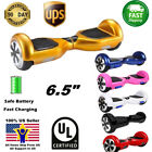 65 Hoverboard 2 Wheel Electric Self Balancing Scooter UL2272 Listed Skateboard
