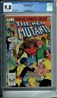 NEW MUTANTS #7 CGC 9.8 WHITE PAGES NEW CGC CASE