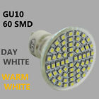 Energy Saving LED GU10 6W 60 SMD Spot Light High Power Bulb Lamps Day Warm White