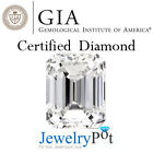 0.9CT D SI2 Emerald GIA Certified & Natural Loose Diamond Stone (1152266846)