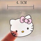 New Hello Kitty Transparent Stickers Round for Envelope Cellphone Scrap Book