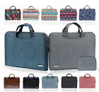 "11"" 13"" 15"" Computer Carrying Cover Laptop Tote Case Pouch Handbag For HP Sony"