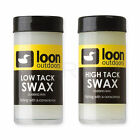 LOON OUTDOORS SWAX - Fly Tying Dubbing Wax - Low or High Tack Dub Wax - NEW!