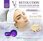 V2 Revolution Wonder 30ML.Night Repair Whitening,Firming Night Cream +Tracking