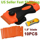 Plastic Car Sticker Remover Edge Blade Razor Scraper Set Win