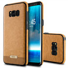 Luxury Ultra-thin TPU PU Leather Skin Case Cover For Samsung Galaxy S8 S8+ Plus
