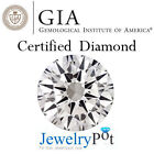 0.51CT E VS1 Round GIA Certified Natural Loose Diamond Stone (Cert 2121294)