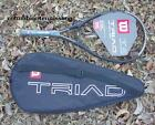 New Wilson Triad 2 T2 racket + case 117 T 2 racquet strung or unstrung rare