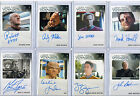 Star Trek Voyager Autograph & Costume Card Selection NM  Rittenhouse Aliens
