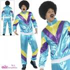 Mens Back To The 80's Shell Suit Fancy Dress Costume Liverpool Scouser Outfit