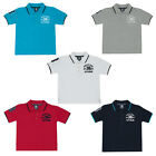 Boys Cotton Polo Rugby T Shirt Top Kids Athletic Sports Tshirt Top 2-13 Years