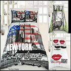 Luxury 3D Effect Bedding Set Duvet Cover with Pillow case in Double & King Size