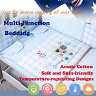 4Pcs Baby Toddler Kid Quilt Sheet Pillow Case Bedding Winter Autumn 2.5tog 3.5to
