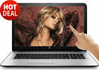 "HP 17.3"" TouchScreen 8GB Intel Pentium 2.56GHz 1TB DVD+RW WebCam WIN10 Laptop PC"